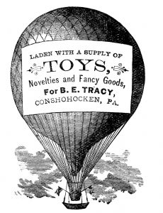 Advertising-Balloon-Vintage