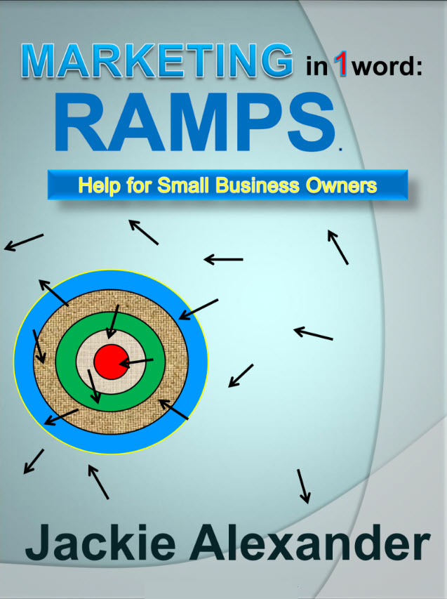 Book Cover - Marketing in 1 Word - RAMPS